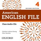 American English File Level 4 Class Audio CDs