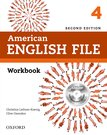 American English File 4 Workbook with iChecker