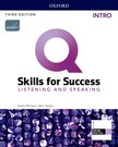 Q SKILLS FOR SUCCESS 3E: INTRO LEVEL LISTENING & SPEAKING STUDENT BOOK WITH IQ ONLINE PRACTICE PACK
