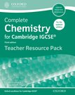 Complete Chemistry for Cambridge IGCSE Teacher Resource Pack  2014