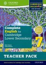 Complete English for Cambridge Secondary 1 Teacher Pack 7