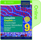 Complete English for Cambridge Lower Secondary Online Student Book 9