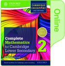 Complete Mathematics for Cambridge Lower Secondary Book 2
