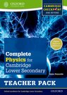 Complete Physics for Cambridge Secondary 1 Teacher Pack