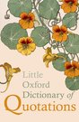 Little Oxford Dictionary Of Quotations, 5e